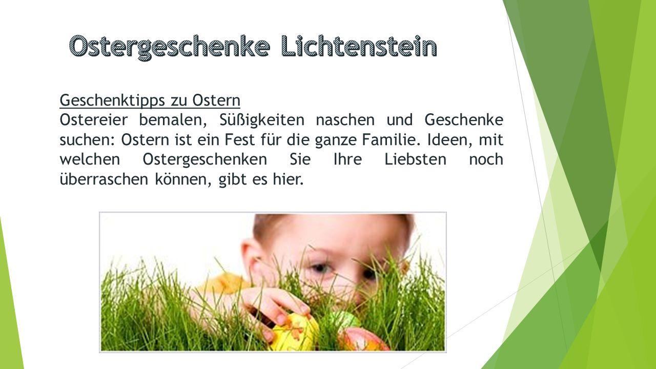 Ostergeschenke Lichtenstein