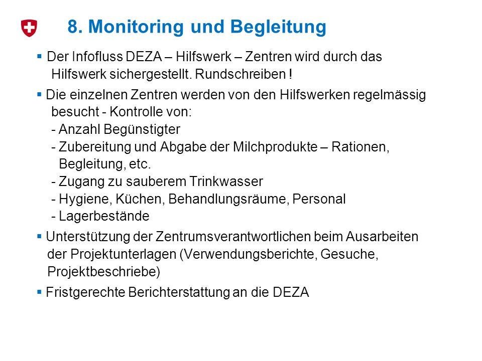 8. Monitoring und Begleitung