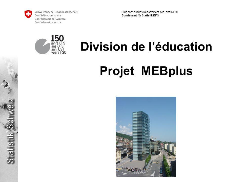 Division de l'éducation Projet MEBplus