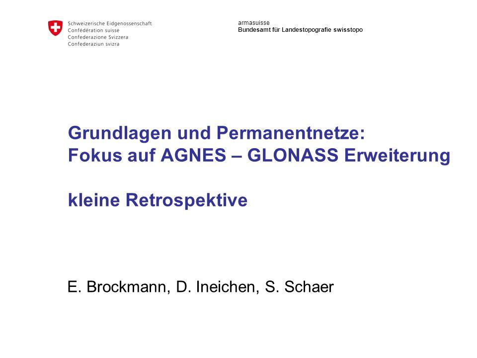 E. Brockmann, D. Ineichen, S. Schaer