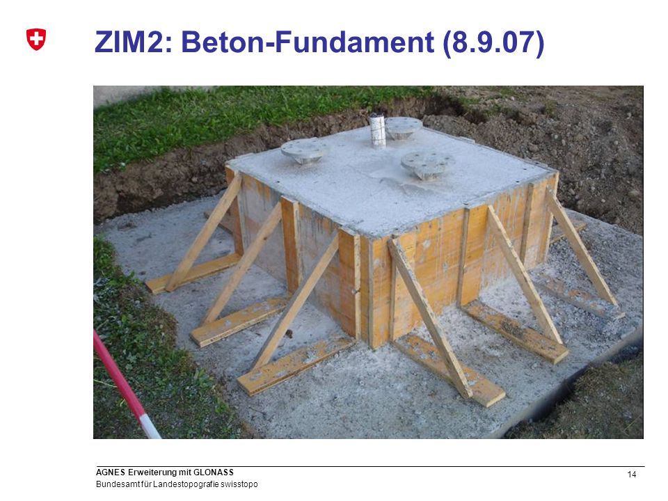 ZIM2: Beton-Fundament (8.9.07)