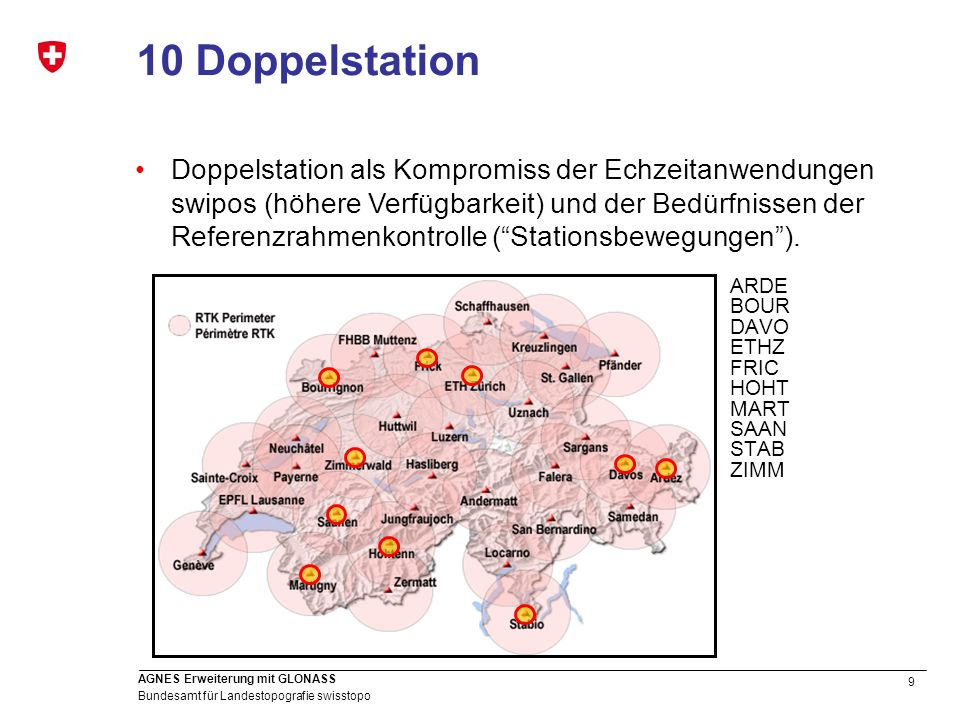 10 Doppelstation