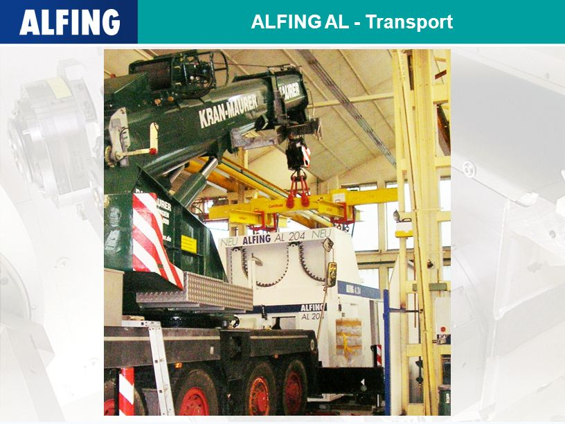 ALFING AL - Transport