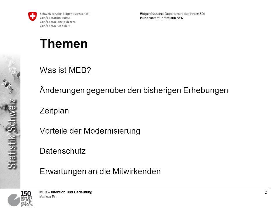 Themen Was ist MEB.
