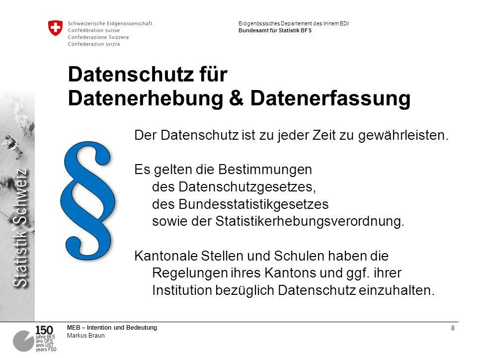 Datenschutz für Datenerhebung & Datenerfassung