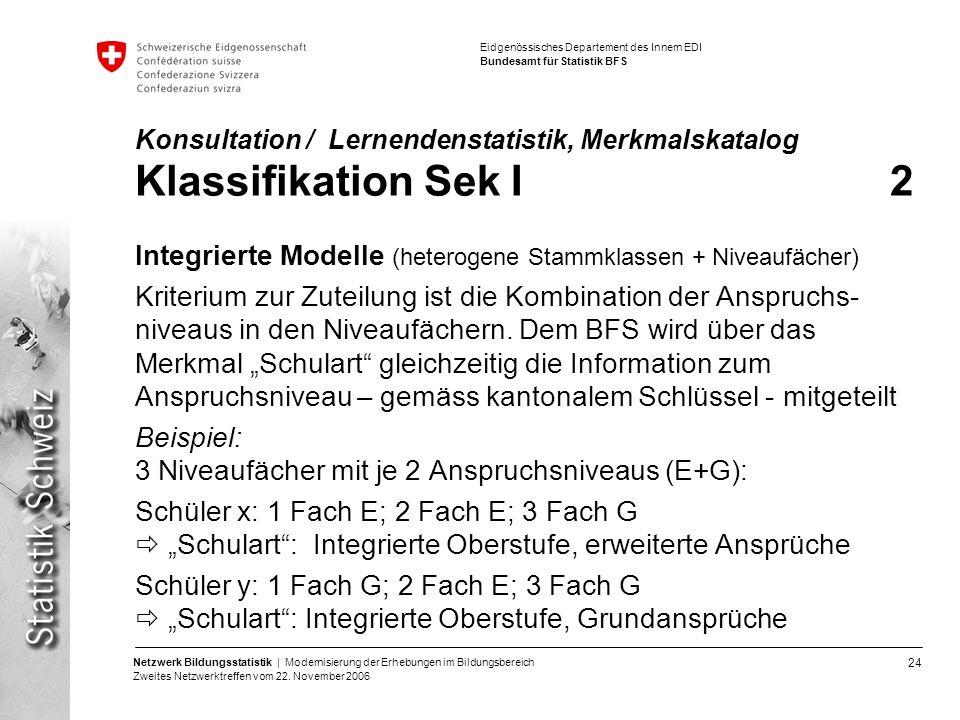 Integrierte Modelle (heterogene Stammklassen + Niveaufächer)