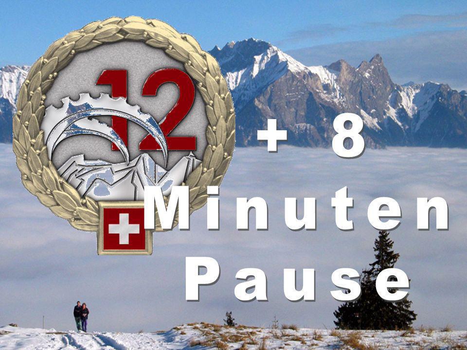 + 8 Minuten Pause Brigaderapport 19. 1. 2007
