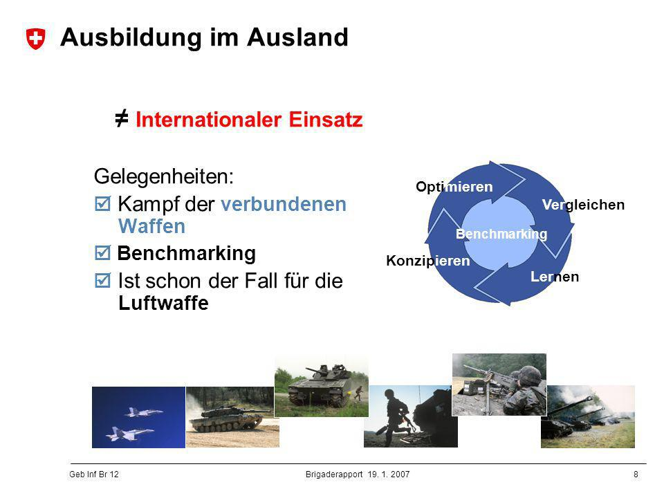 ≠ Internationaler Einsatz