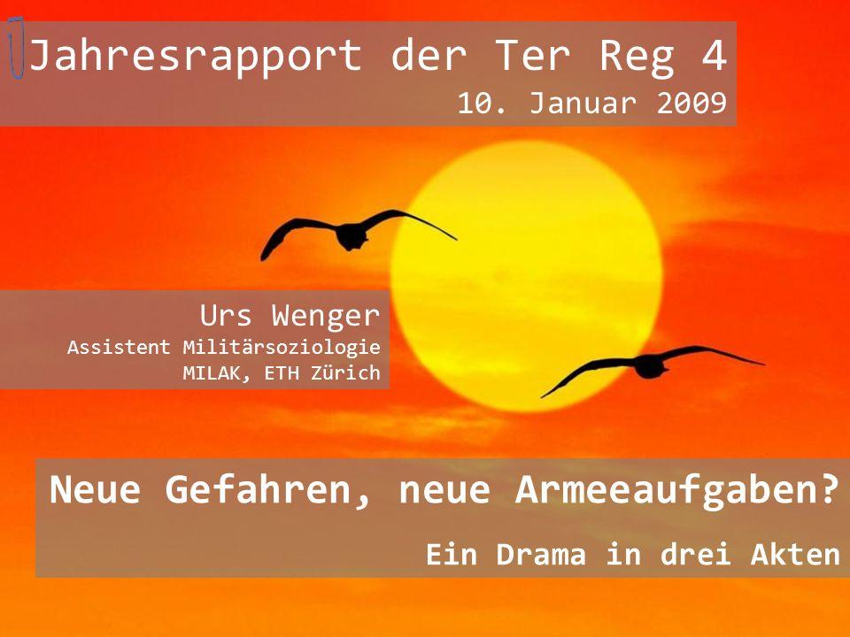 Jahresrapport der Ter Reg 4 10. Januar 2009