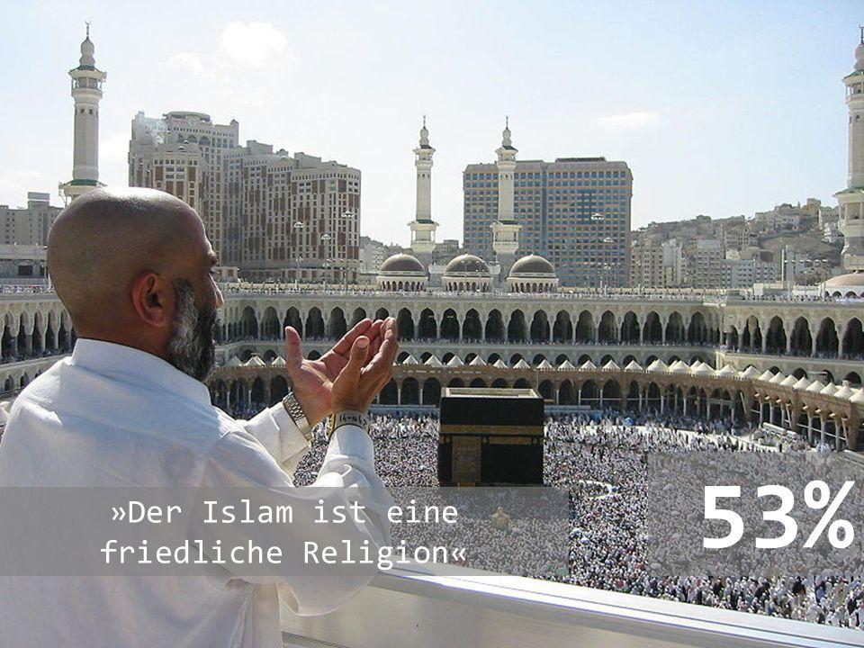 »Der Islam ist eine friedliche Religion«