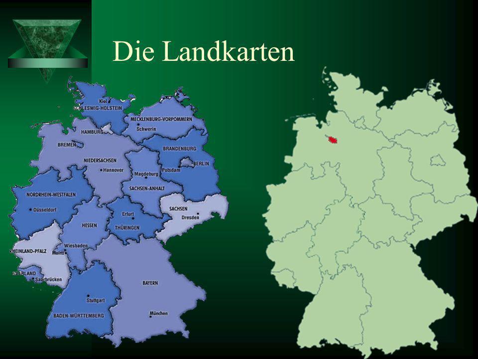 Die Landkarten