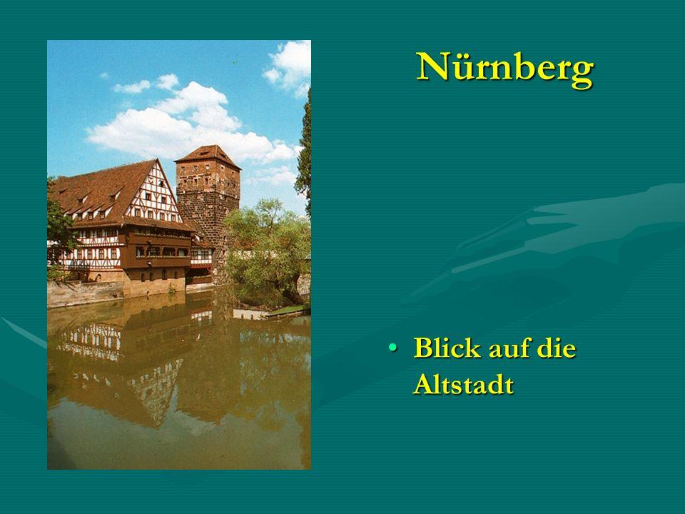 Nürnberg Blick auf die Altstadt