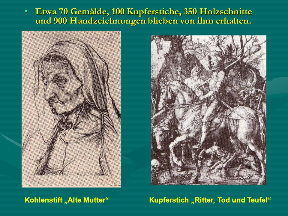 """Kohlenstift """"Alte Mutter"""