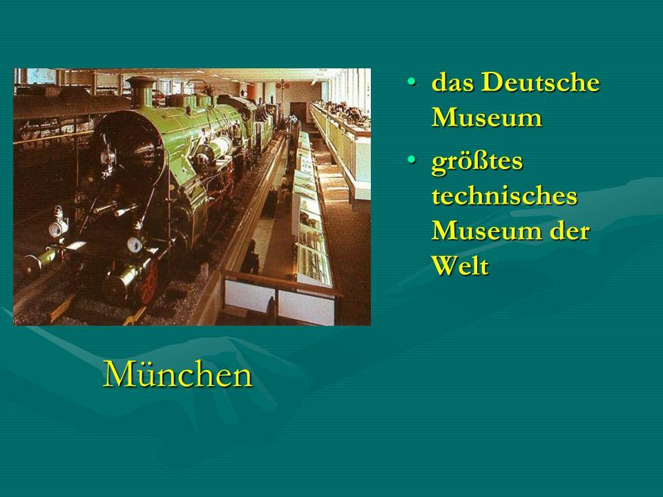 das Deutsche Museum größtes technisches Museum der Welt München