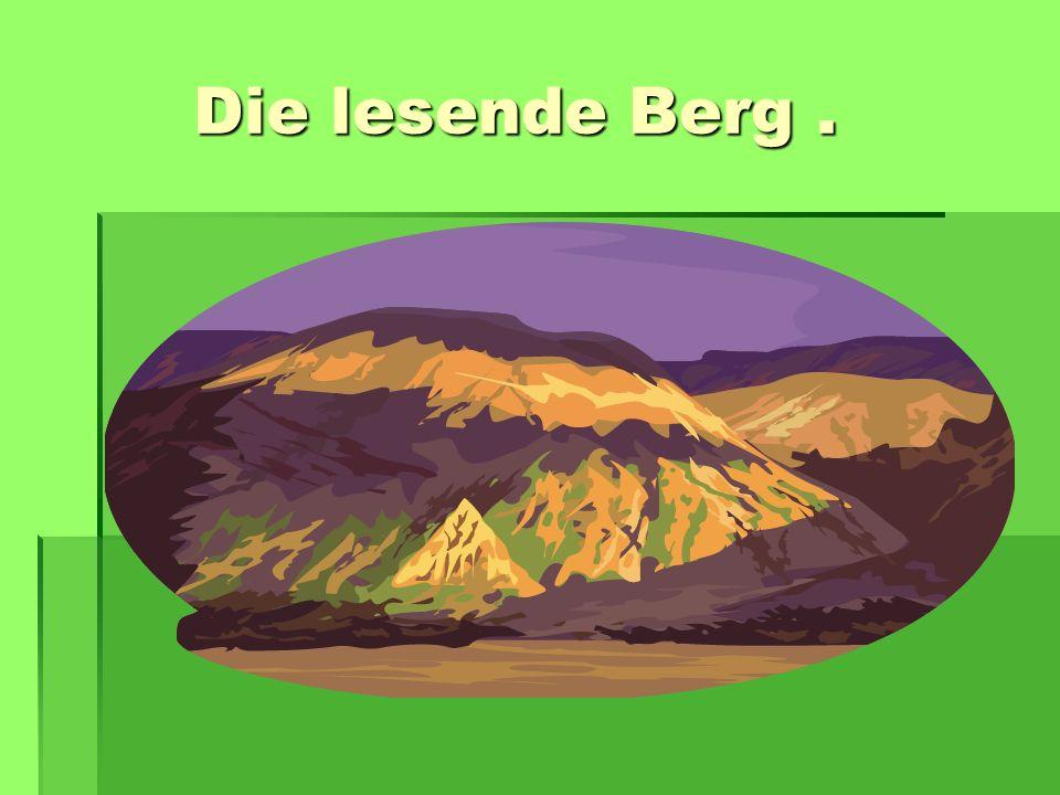 Die lesende Berg .