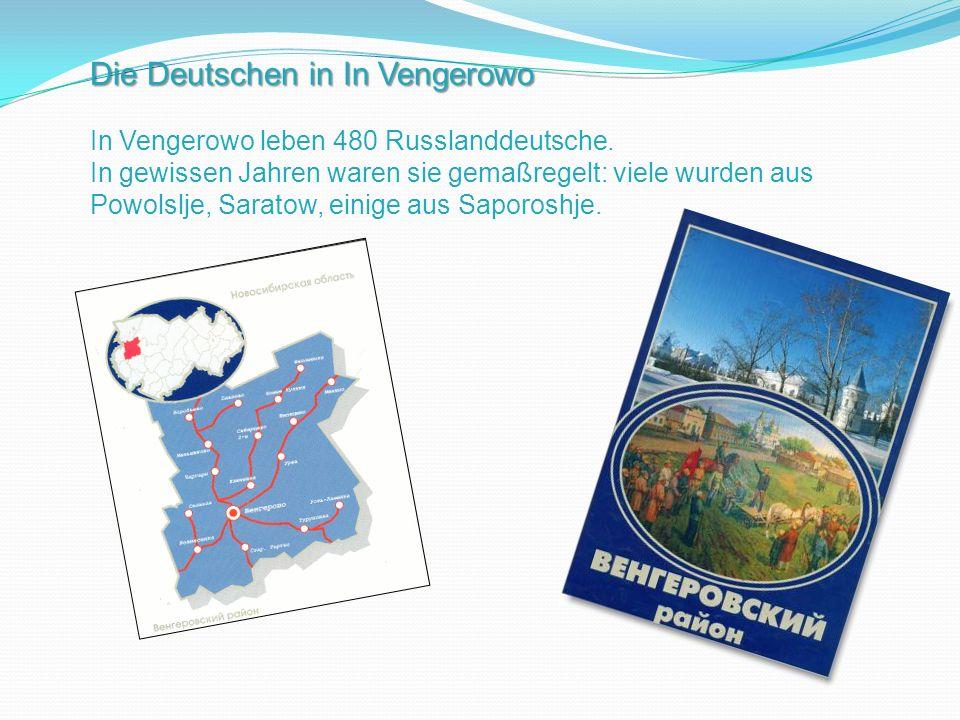 Die Deutschen in In Vengerowo