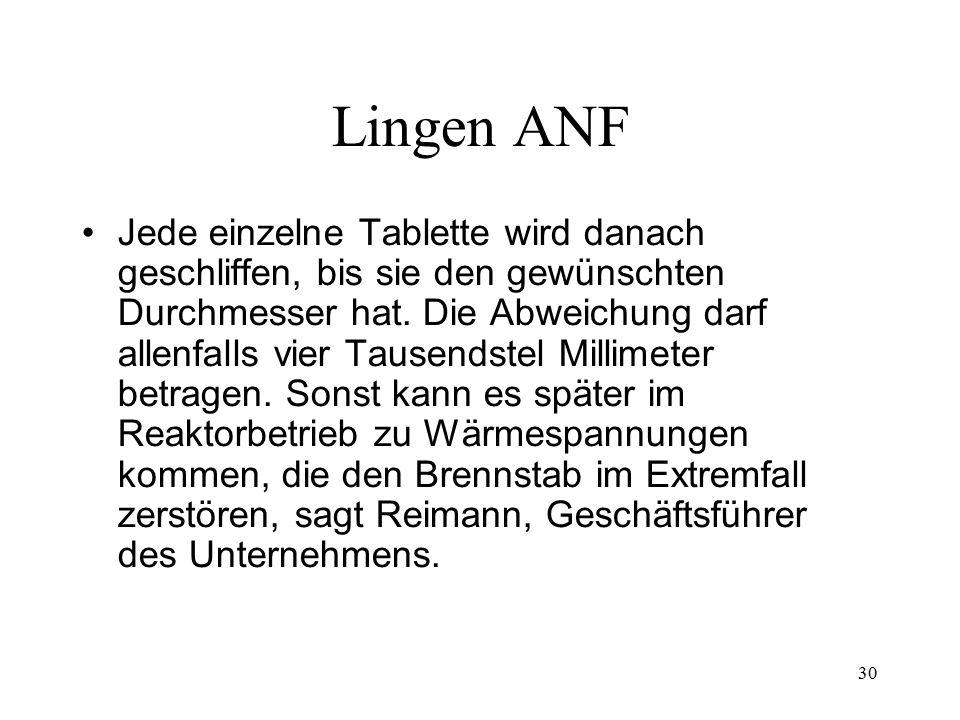 Lingen ANF