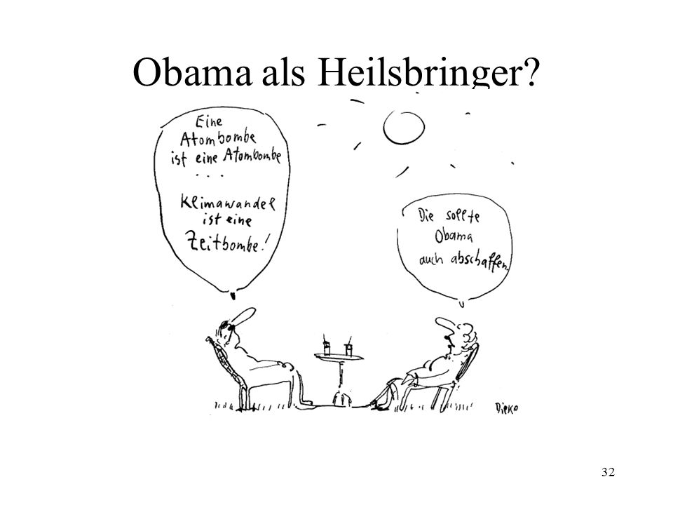 Obama als Heilsbringer