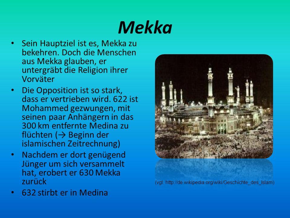 (vgl: http://de.wikipedia.org/wiki/Geschichte_des_Islam)