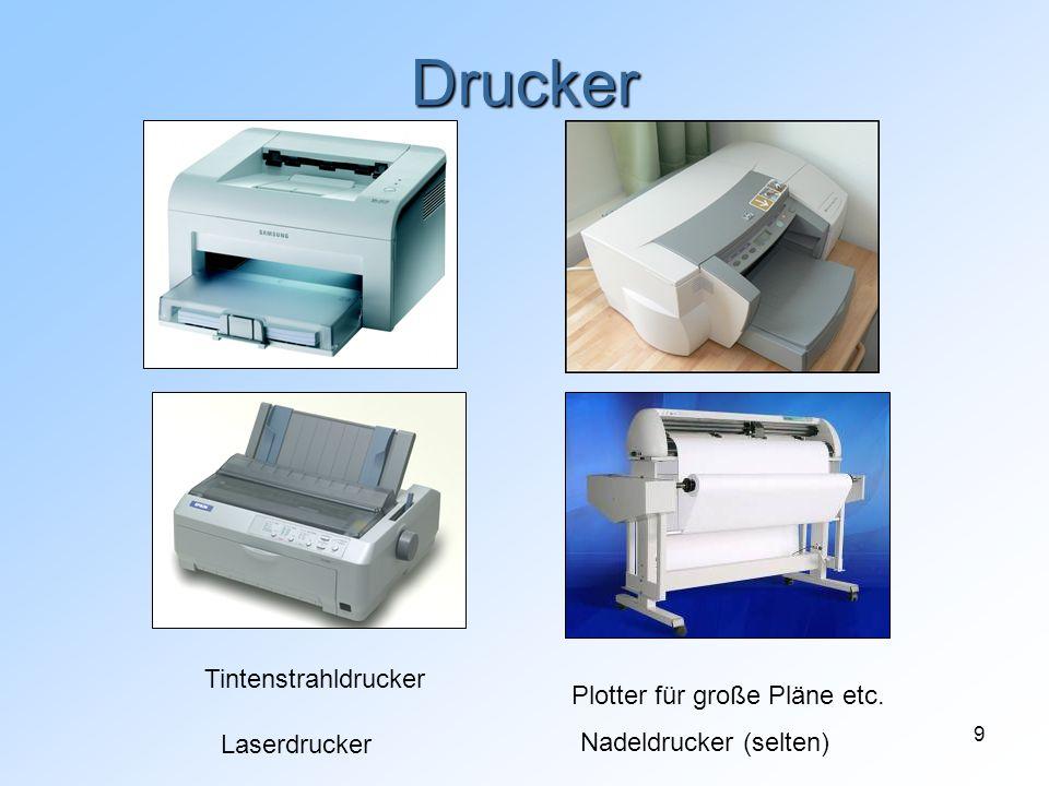Drucker Tintenstrahldrucker Plotter für große Pläne etc. Laserdrucker