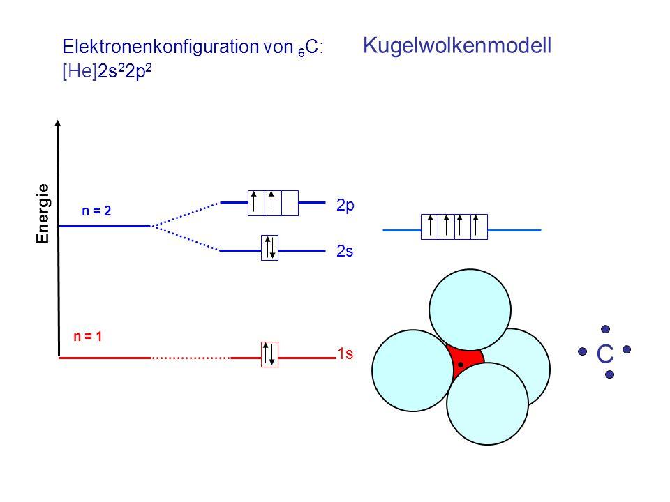 Elektronenkonfiguration von 6C: