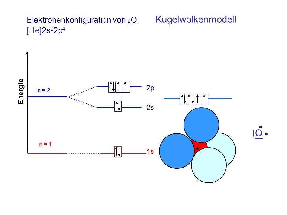 Elektronenkonfiguration von 8O:
