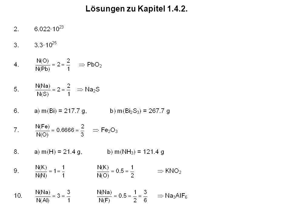 Lösungen zu Kapitel 1.4.2.