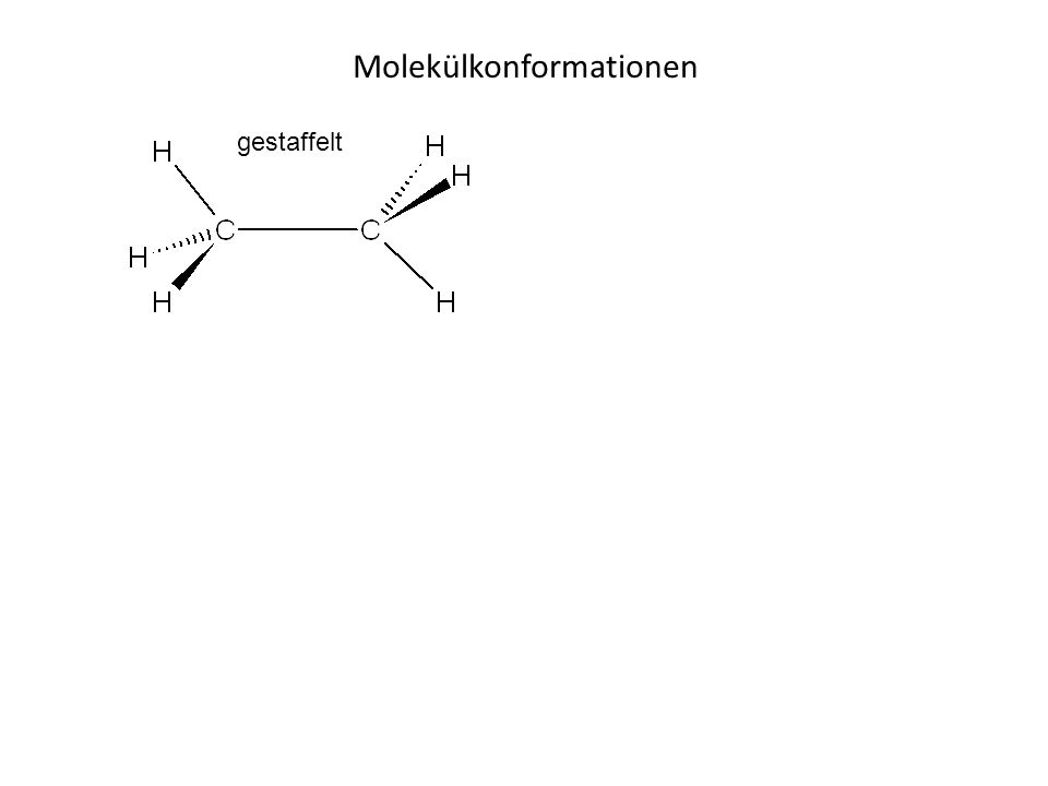 Molekülkonformationen