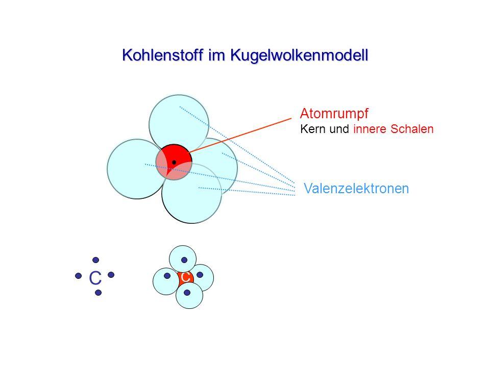 Kohlenstoff im Kugelwolkenmodell