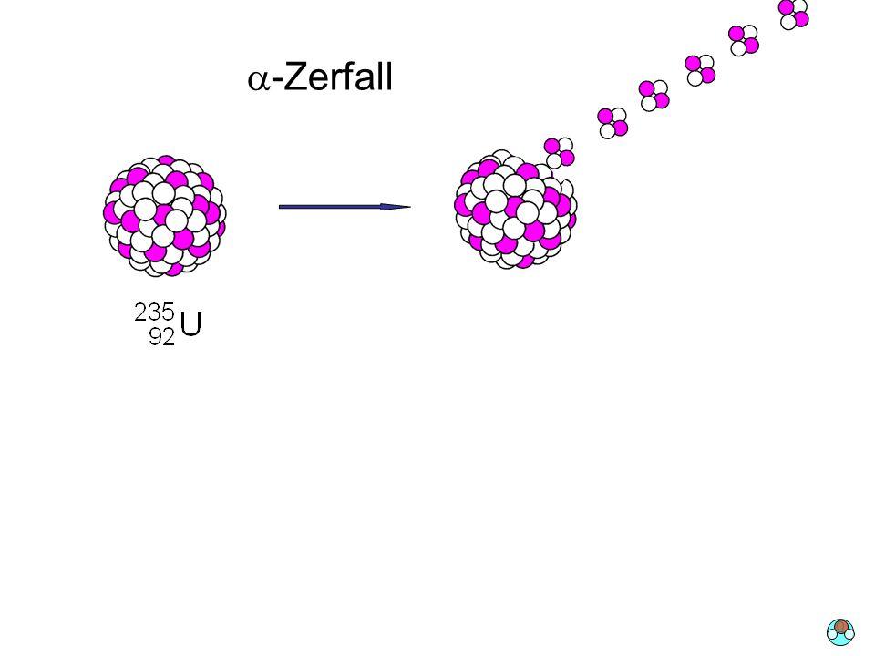 a-Zerfall + a O