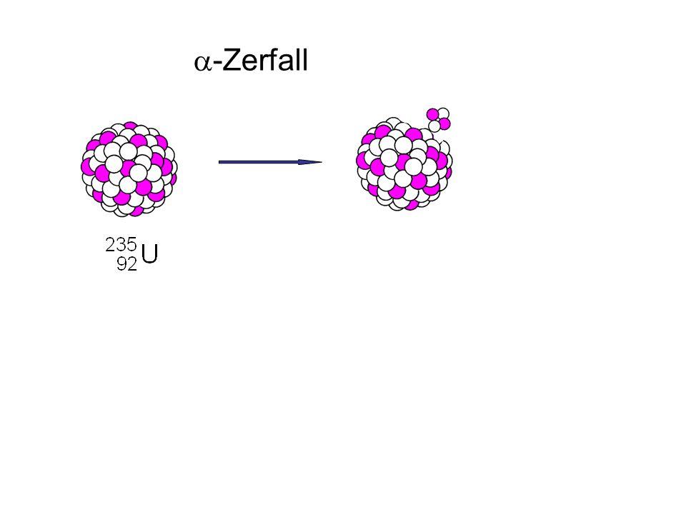 a-Zerfall + a