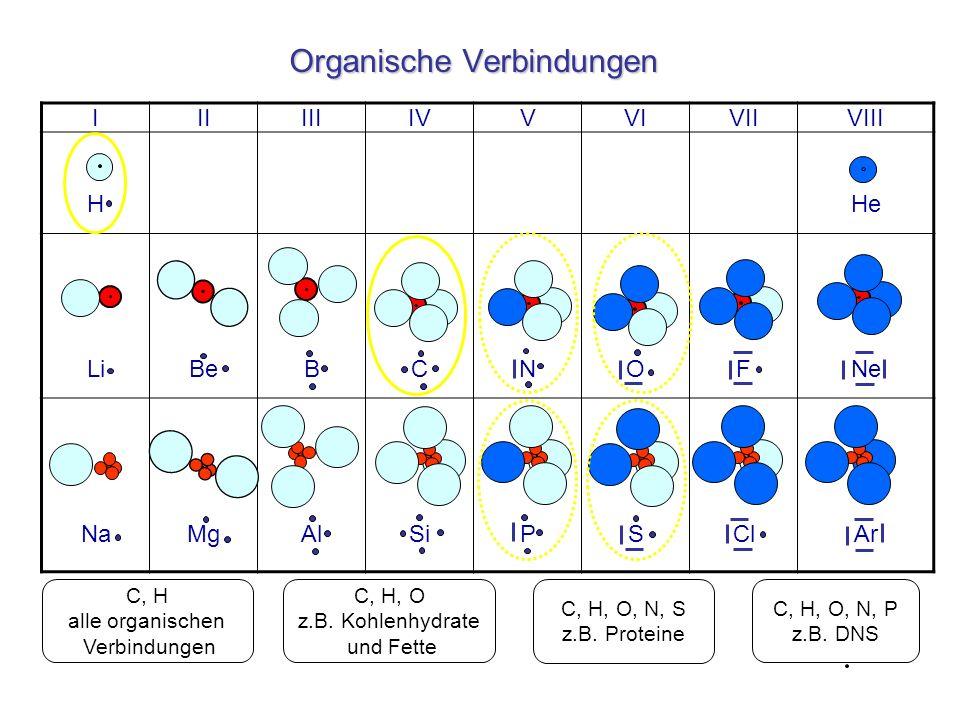Organische Verbindungen