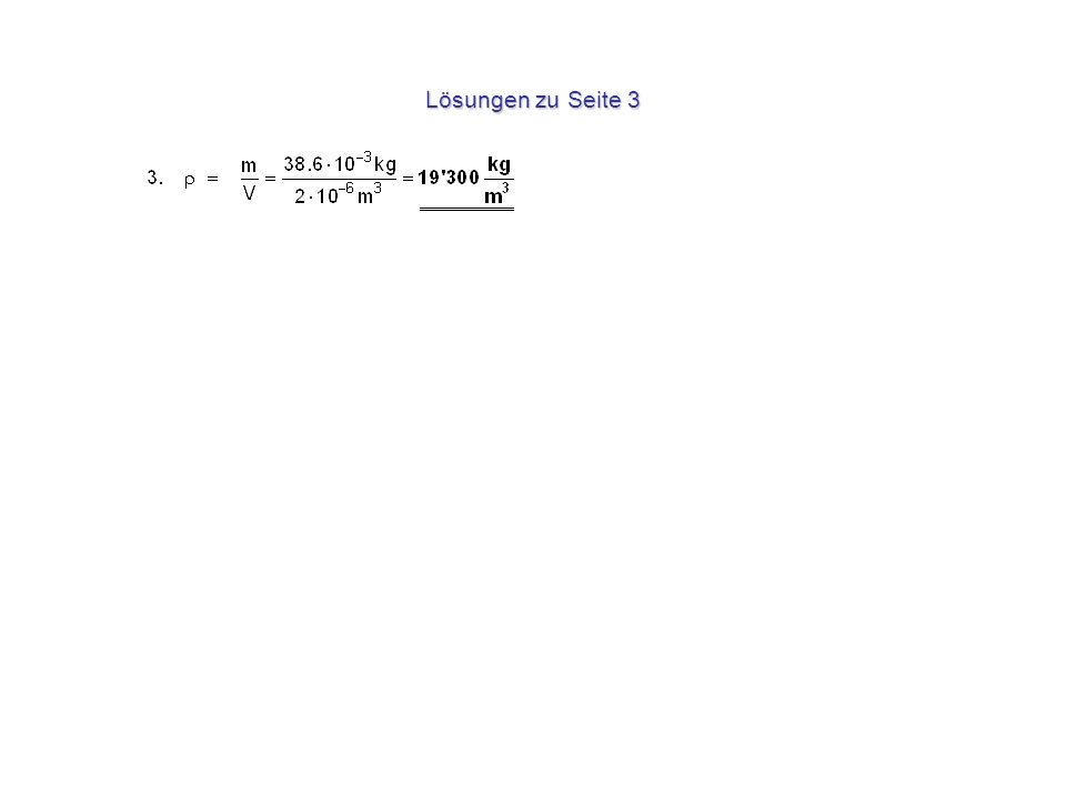 Lösungen zu Seite 3