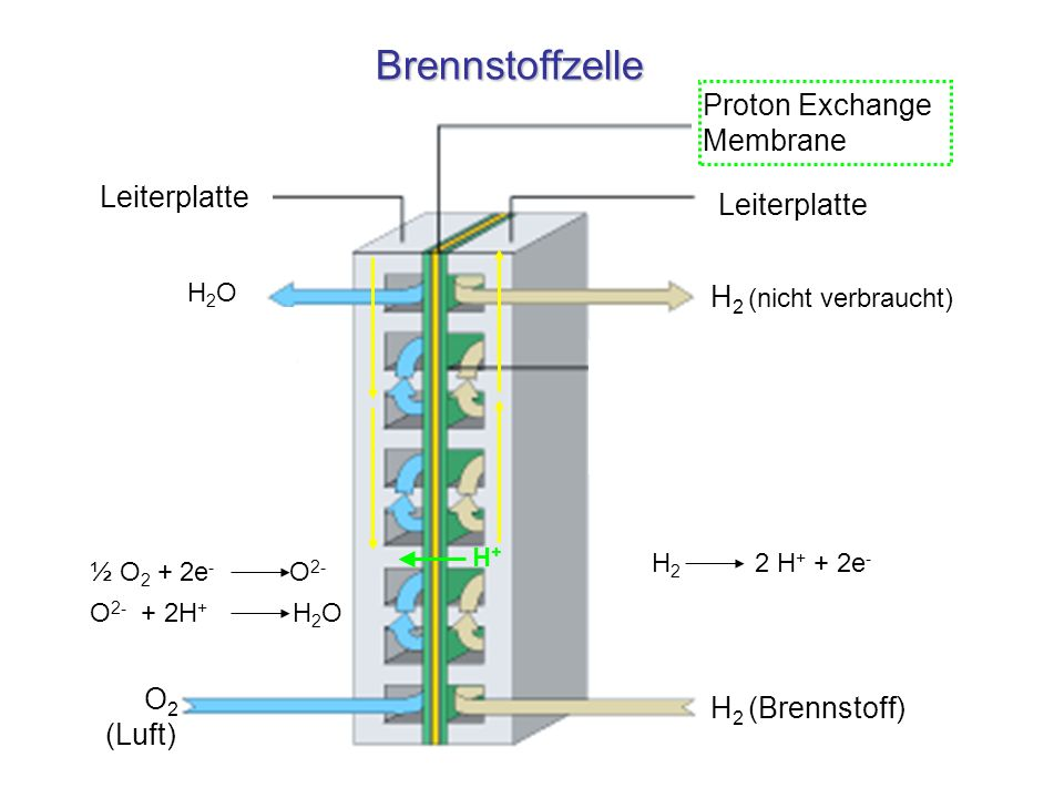 Brennstoffzelle Proton Exchange Membrane Leiterplatte Leiterplatte