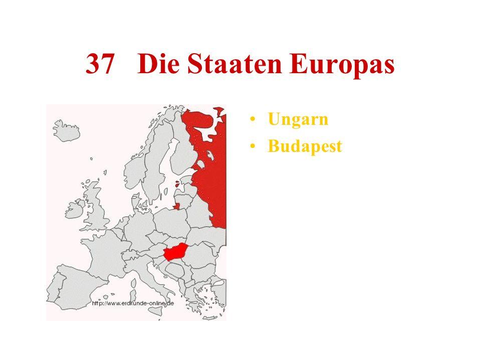 37 Die Staaten Europas Ungarn Budapest