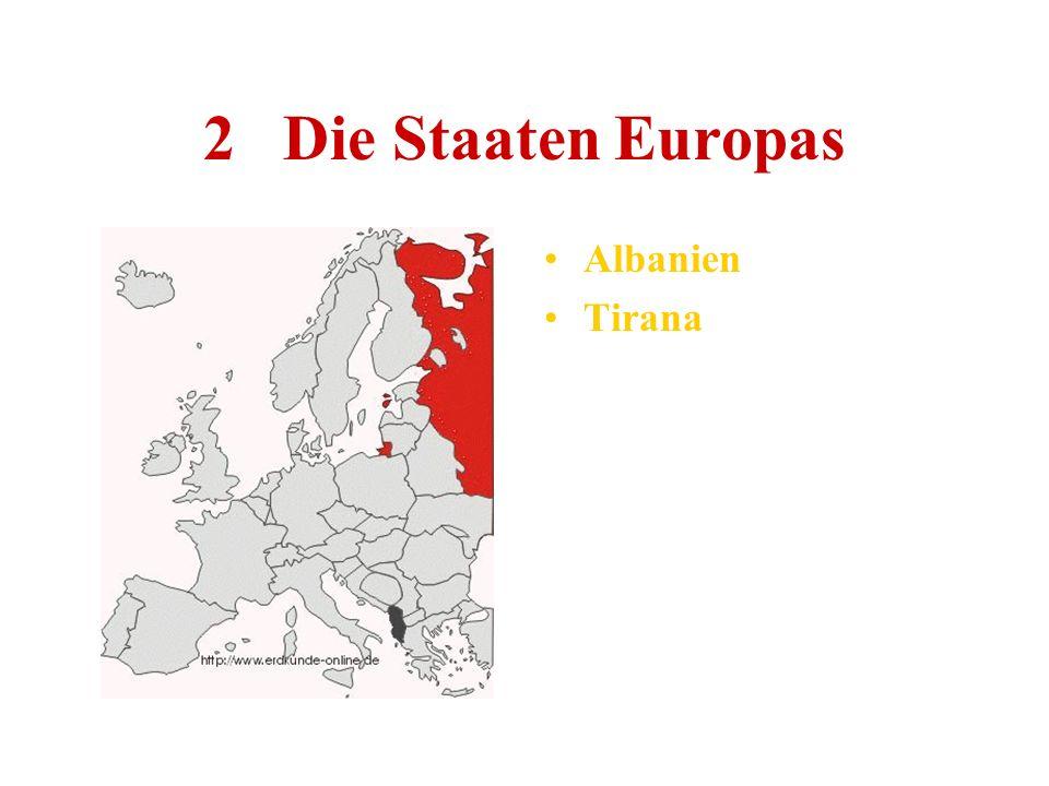 2 Die Staaten Europas Albanien Tirana