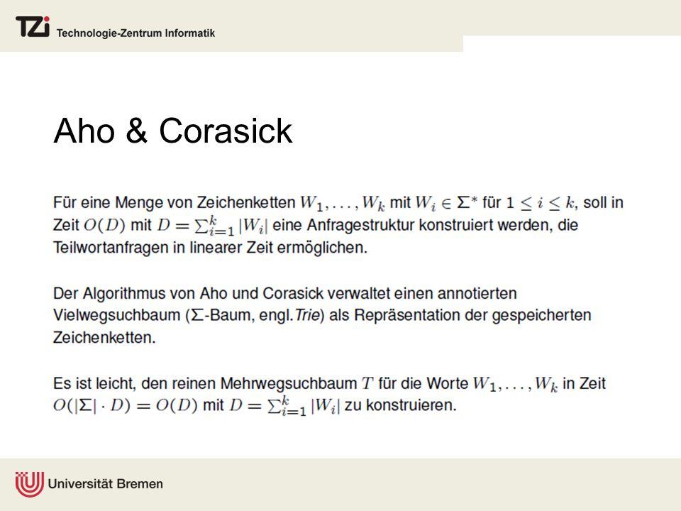 Aho & Corasick