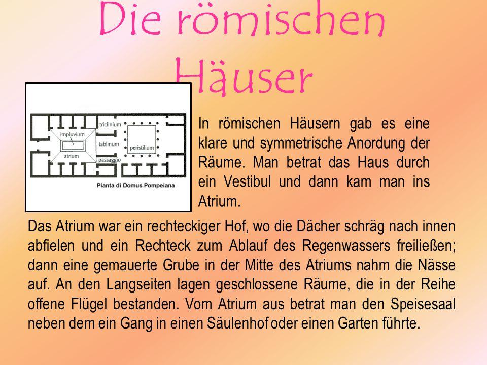 Die römischen Häuser