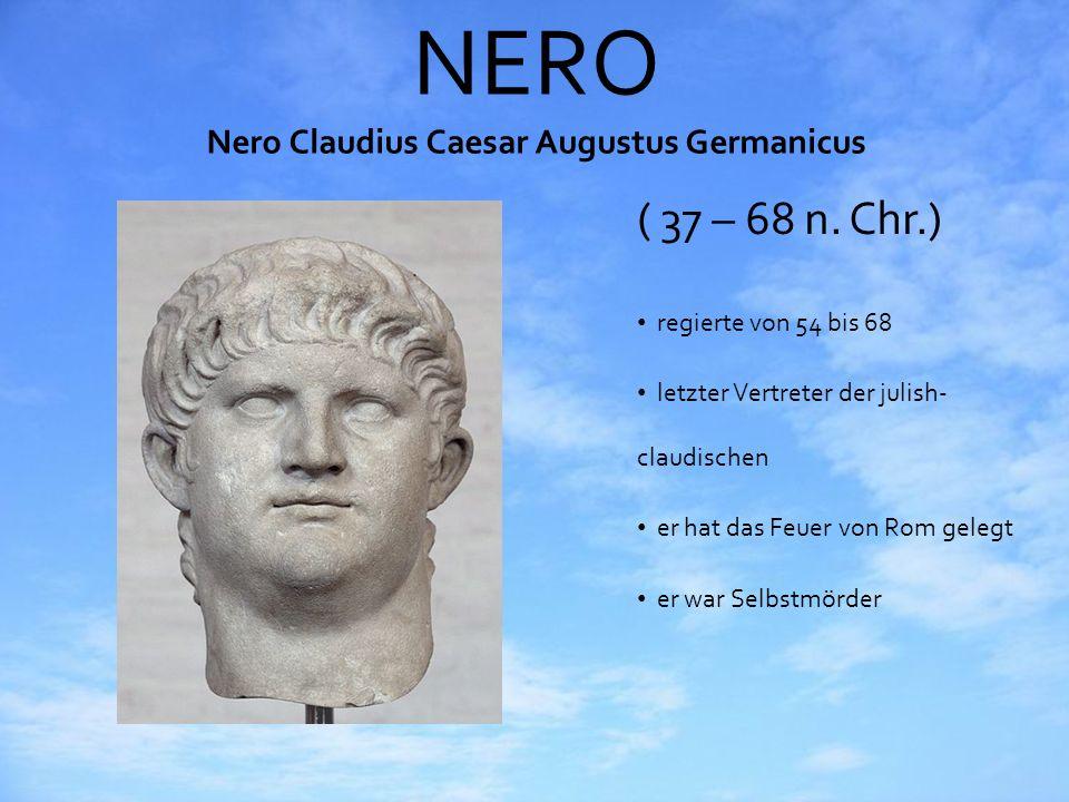 NERO Nero Claudius Caesar Augustus Germanicus