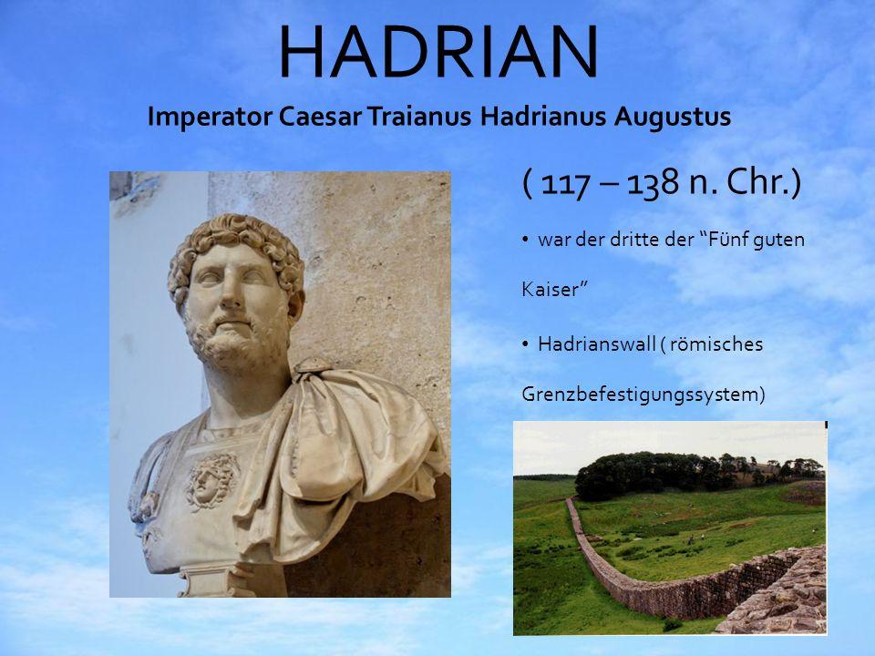 HADRIAN Imperator Caesar Traianus Hadrianus Augustus