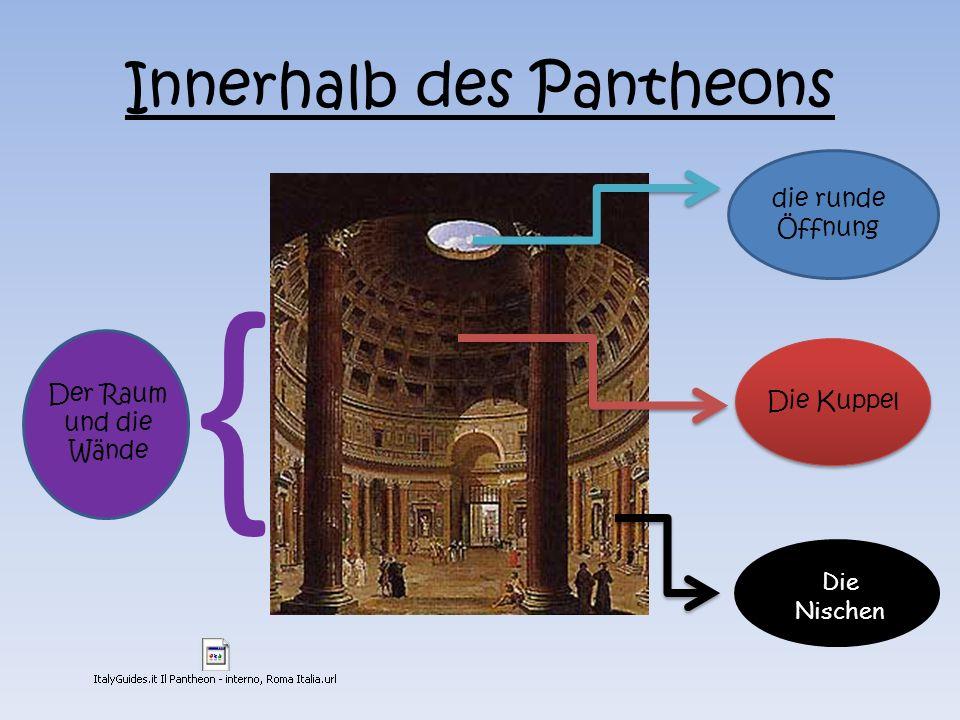 Innerhalb des Pantheons