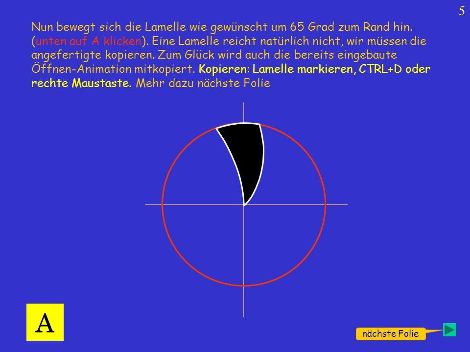 …die kopierte Lamelle mit CTRL+V oder rechte Maustaste einfügen,