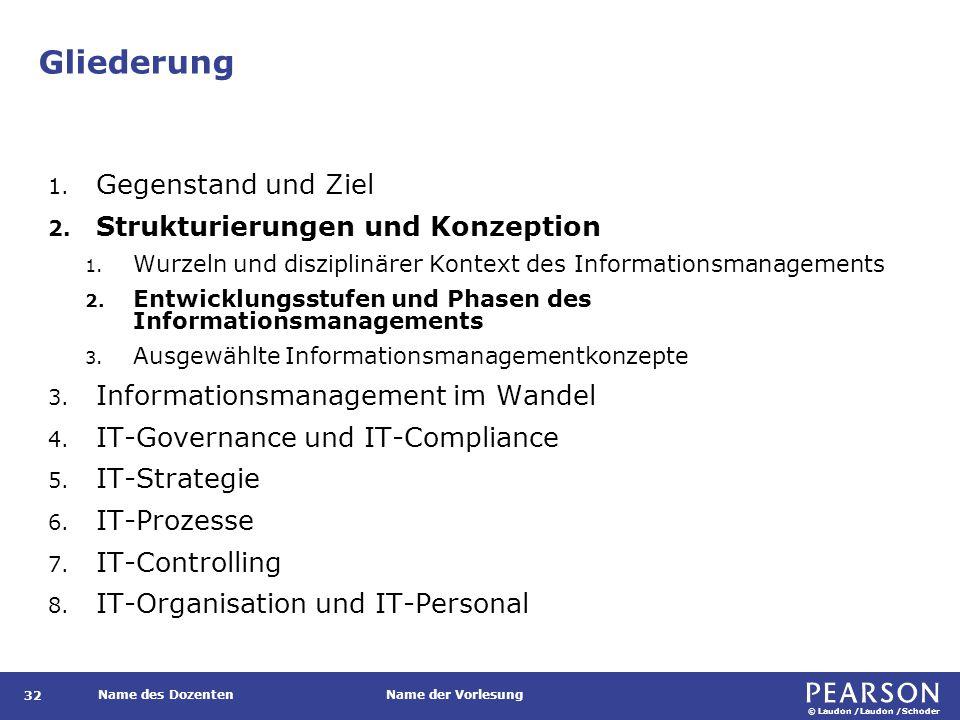 Entwicklungsstufen und Phasen des Informationsmanagements