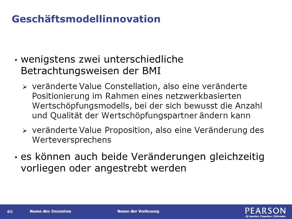 Phasen der Business Model Innovation