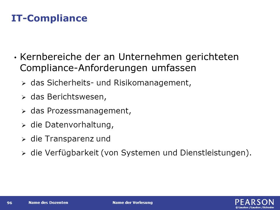 IT-Compliance Regelungen
