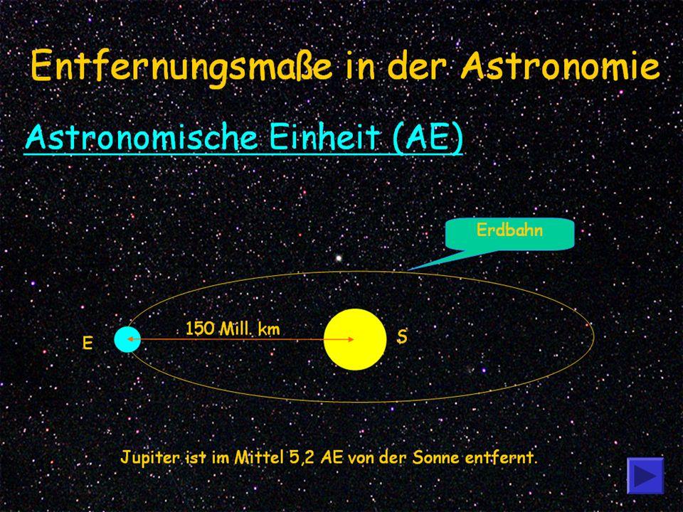 Entfernungsmaße in der Astronomie
