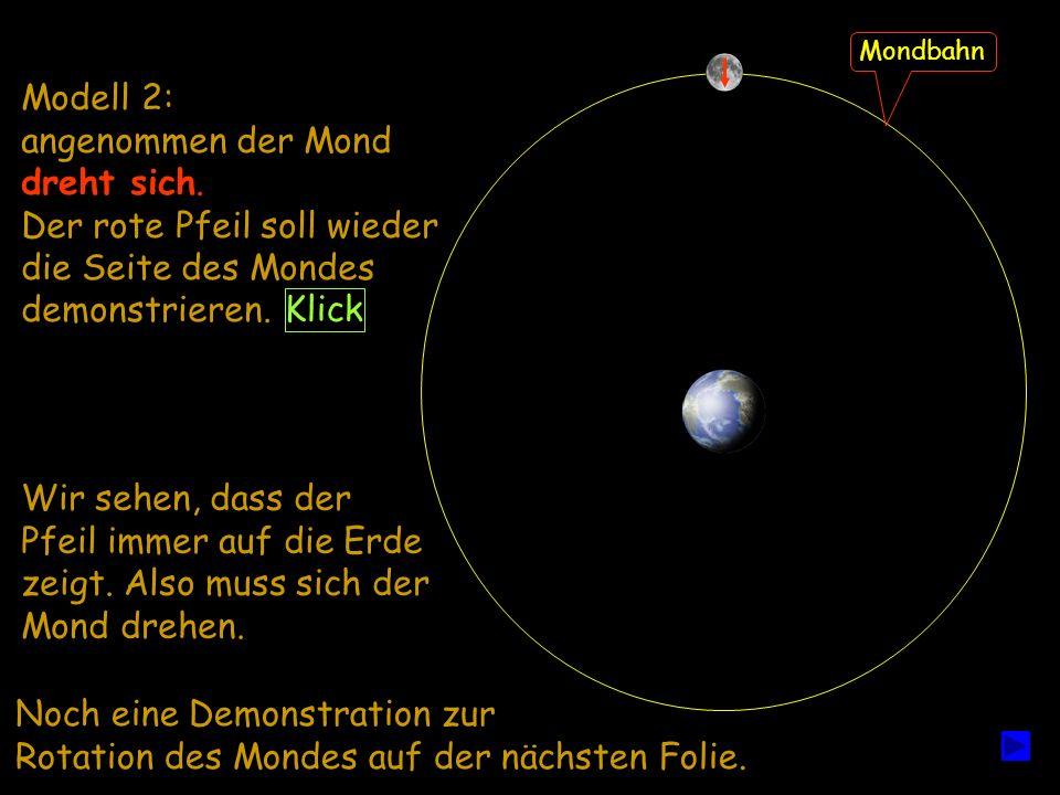 Der rote Pfeil soll wieder die Seite des Mondes demonstrieren.