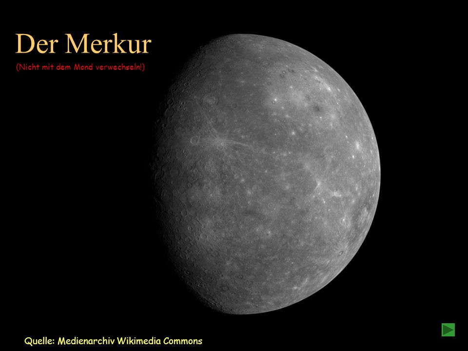 Der Merkur Quelle: Medienarchiv Wikimedia Commons