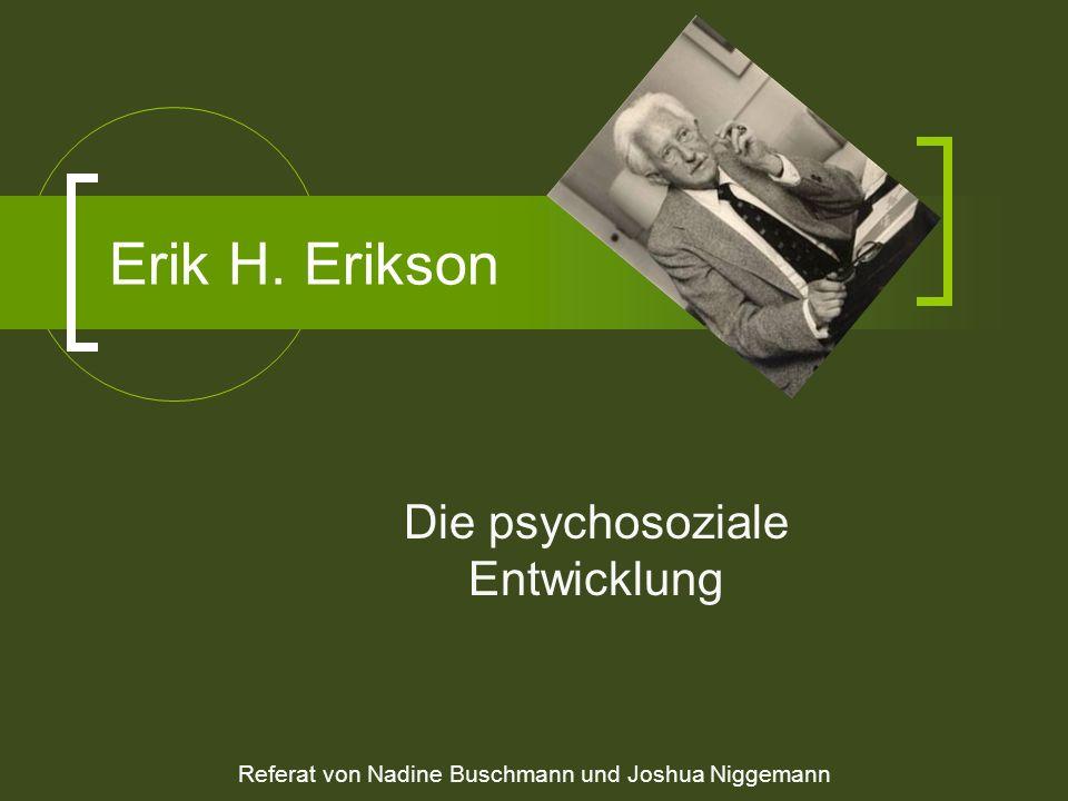 Die psychosoziale Entwicklung