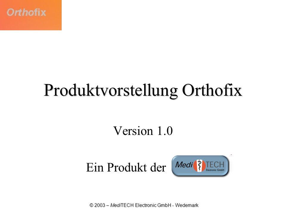 Produktvorstellung Orthofix